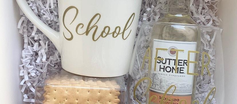 Before school After school giftbox