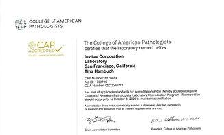 Invitae_College-of-American-Pathologists