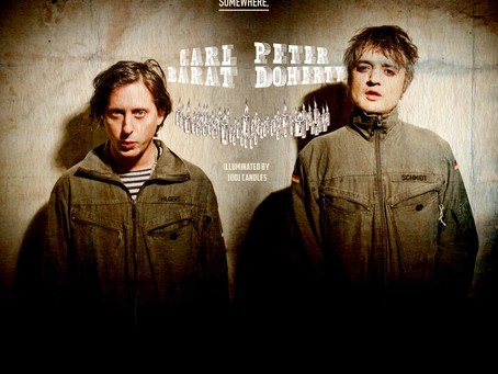 Carl Barât & Peter Doherty  SPECIAL ACOUSTIC PERFORMANCE at Hackney Empire
