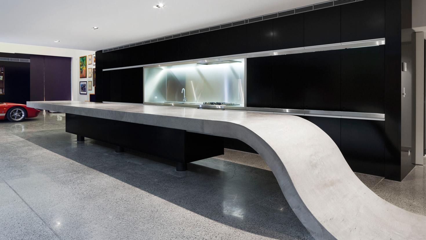 Béton Ciré Plan De Travail Cuisine gallery | deco-beton-design