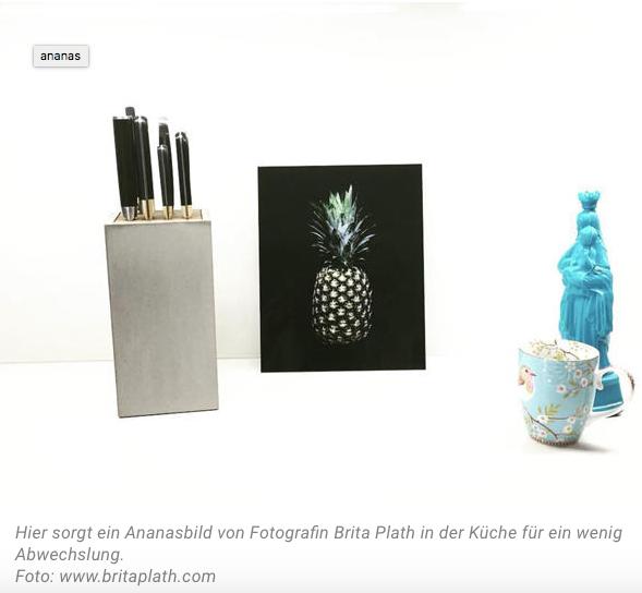 Die Ananas bei Wunderweib.de