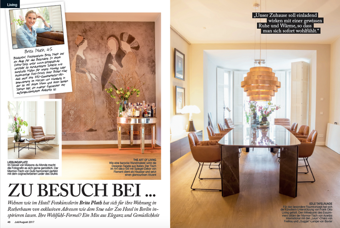 Brita Plath im Mrs. City Magazin
