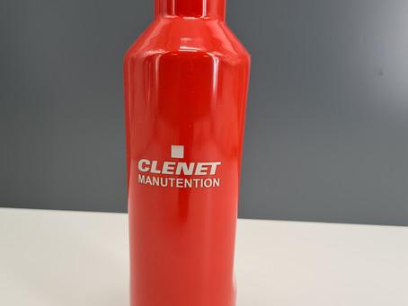 Opération marquage laser pour Clenet Manutention