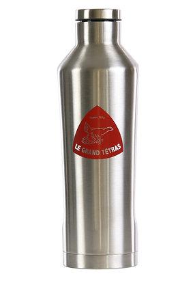 ISOTHERME CONCAVE  METAL- 0,5 Litre - ACIER INOX