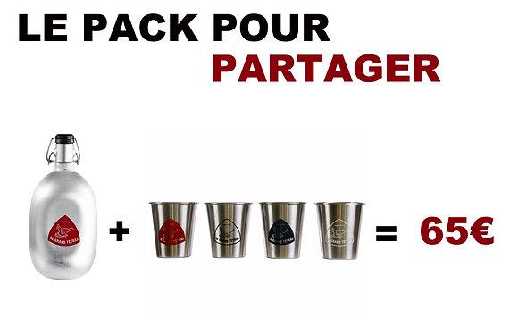 LE PACK Partager