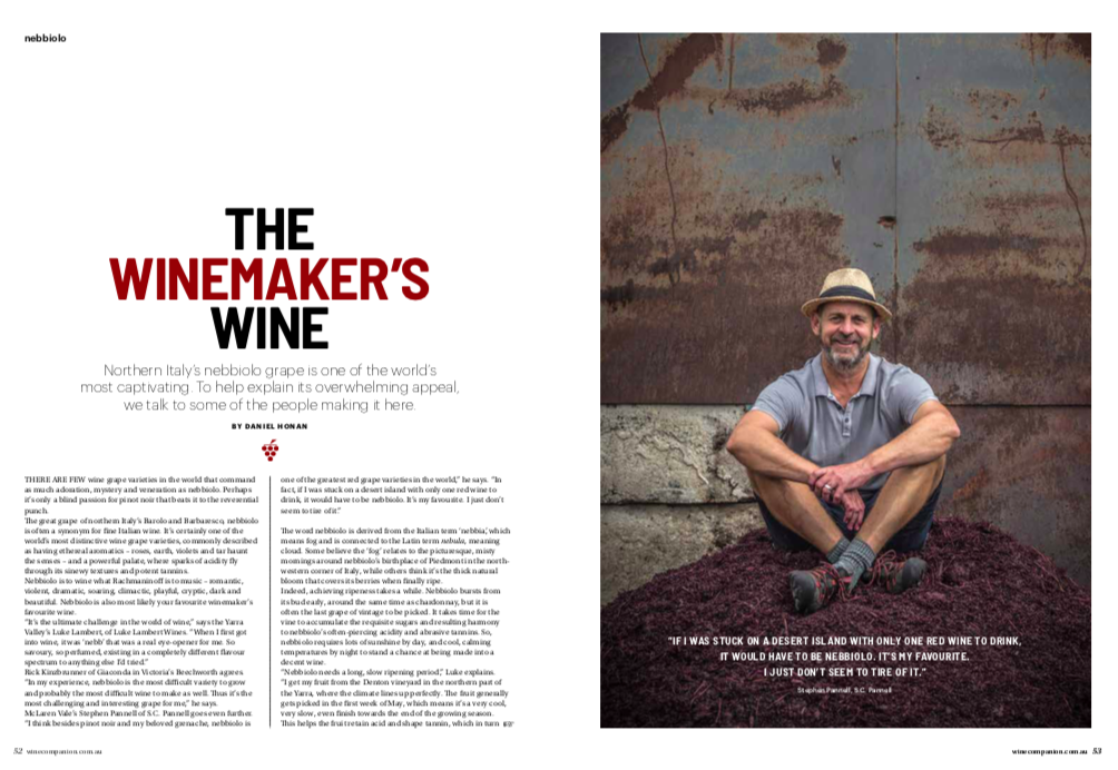 The Winemaker's Wine: Nebbiolo