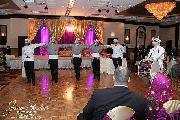 Firkat Al Watan at Taha and Mujahida's wedding 11/22/2015