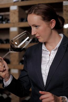 Laura Menges Heidelberg Sommelier Weinprobe