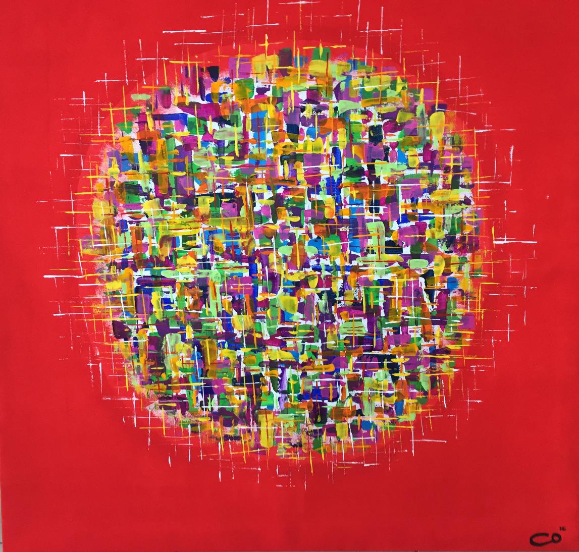 Sphère colorée bis