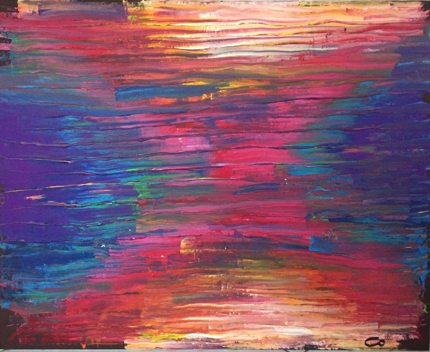 Crépuscule de couleurs