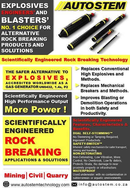 Scientifically Engineered Rock Breaking