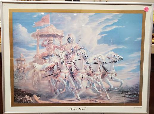 Canvas Print Hanuman Potent27x27