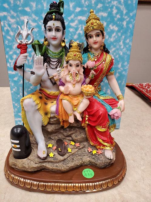 """Murti Shiva Family 10"""""""