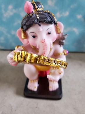 Baby Ganesh w/ mirror 4.75