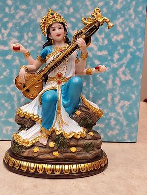 Murti Sarasvati with veena