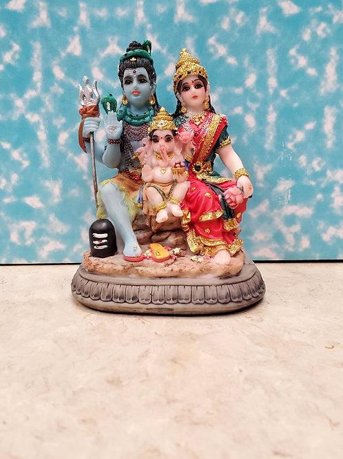 Murti Shiva Family 3.5