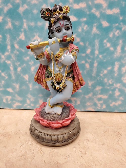 Krishna Standing Blue