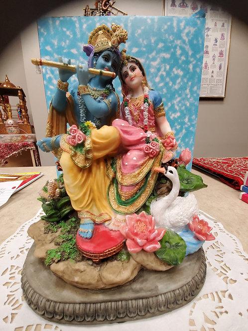 """10"""" Radha Krishna Asana"""