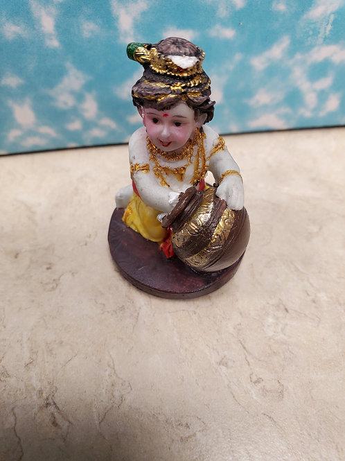 "2"" Krishna Flute Butterthief"