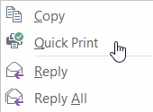 Outlook quickprint and Acrobat Reader ain't no friends