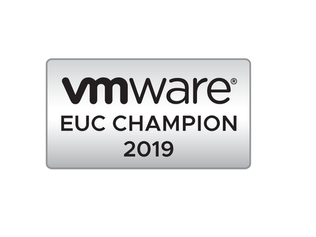 Accepted as a VMware EUC Champion