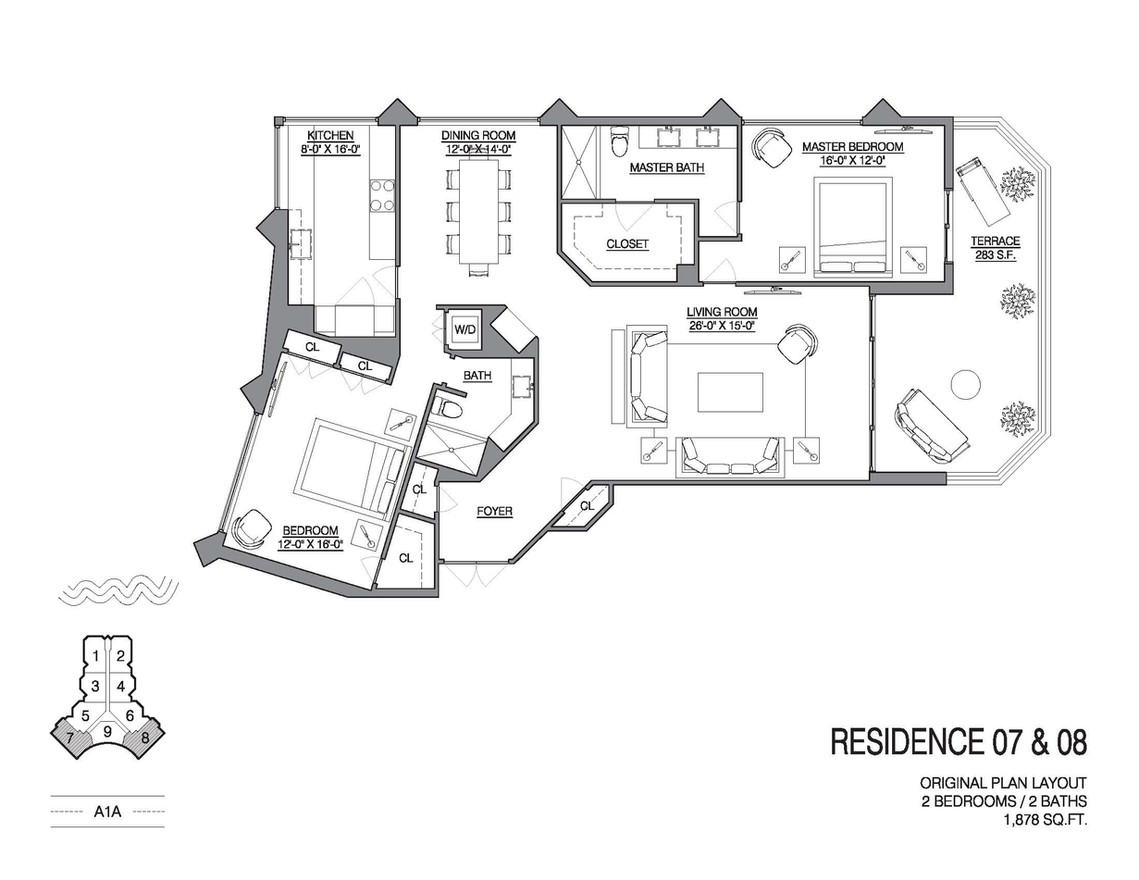 Chalfonte original floorplans unit 07 an