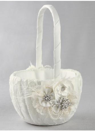 Genevieve Flowergirl Basket