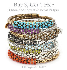 Buy 3 - Get 1 Free Bangle Offer!