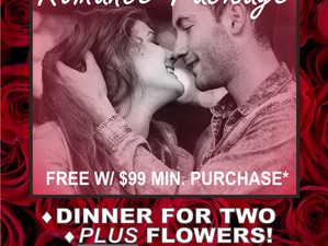 Free Romance Package with Purchase!*