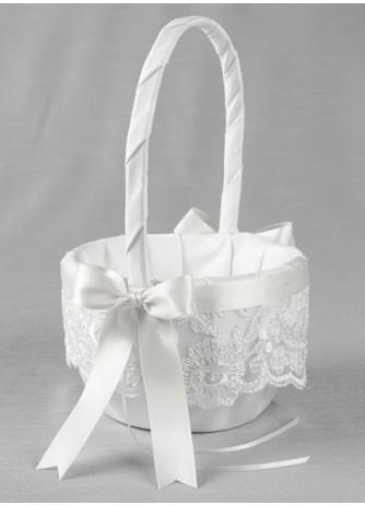 Chantilly Lace Flower Basket