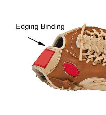 Binding Edge Replacement and Repair Cost: $99 per glove