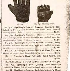 Evolution of the Fielder's Glove