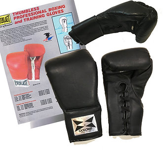 GOLOMB GLOVE Thumbless Training Boxing Gloves Custom made in the USA