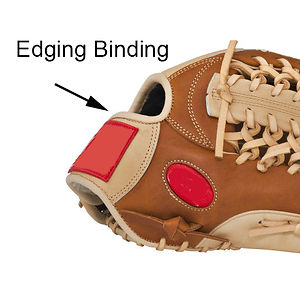 Binding Edge Replacement and Repair Cost: $89.00/glove