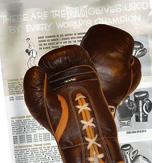 Replica Professional Fight Boxing Gloves - 20th Century