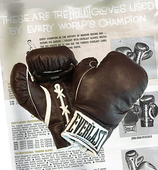 Replica Professional Fight Boxing Gloves - 20th Century