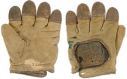 I specialize in antique repair and restoration for sporting goods. Many of the nation's best-known collectors, looking to have their gloves repaired properly, send in their antique and rare finds for restoration.