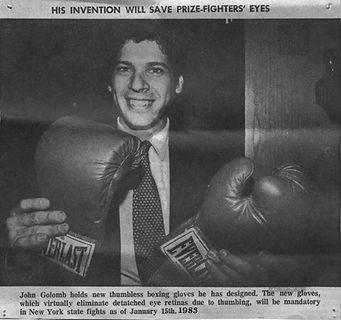 John Golomb the Glove Doctor