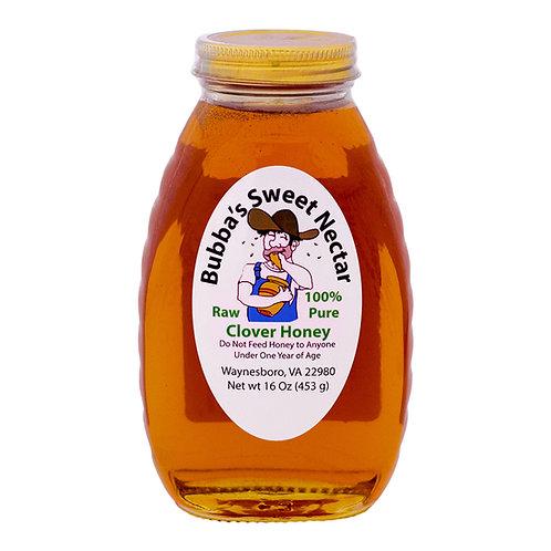 Clover Honey 16 Ounces 1 Lb Jar