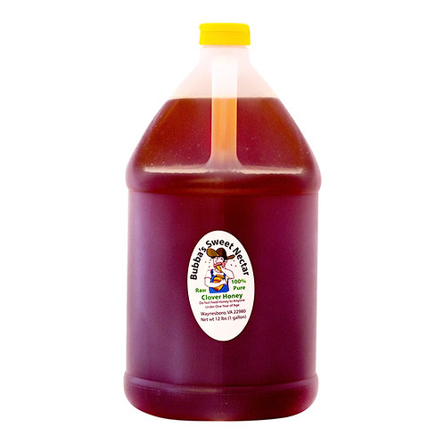 Case Clover Honey (4) 1 Gallon- 12 Lbs