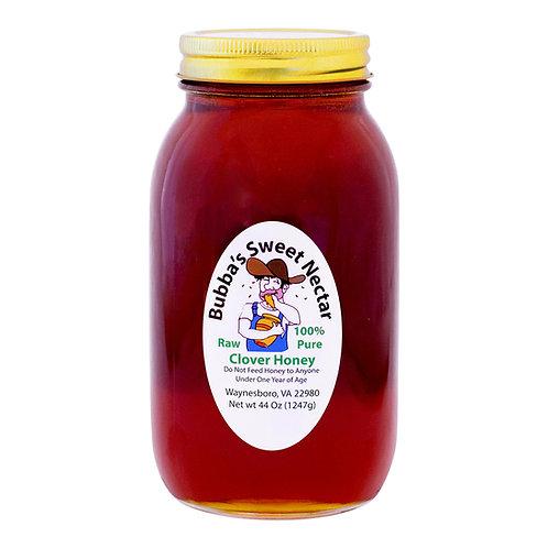 Case Clover Honey (12) 44 Ounces Quart Jar