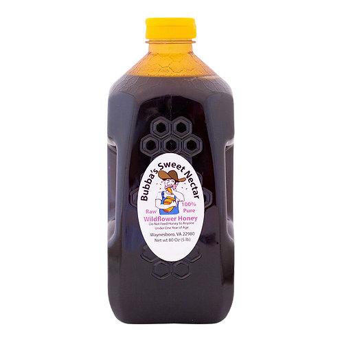 Case Wildflower Honey - (6) 5 Lbs