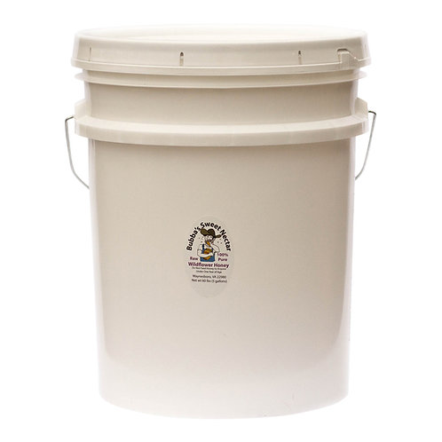 Clover Honey 5 Gallons- 60 Lbs