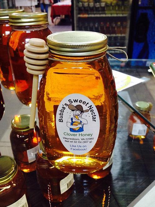 Case Clover Honey (12) 16 Ounces 1 Lb Jar
