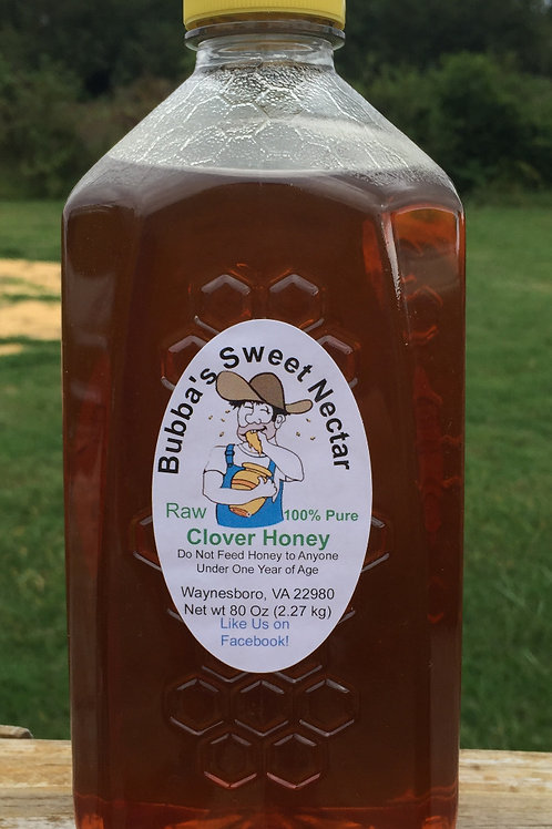 Clover Honey 5 pounds