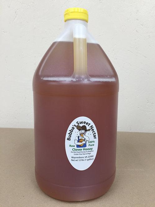 Clover Honey 1 Gallon- 12 Lbs