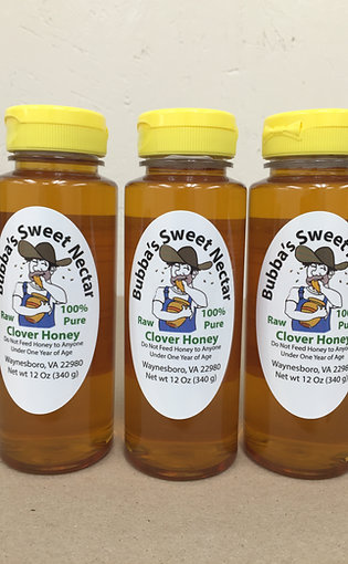 6 Pack of Clover 12 Oz Squeeze Bottles (6)