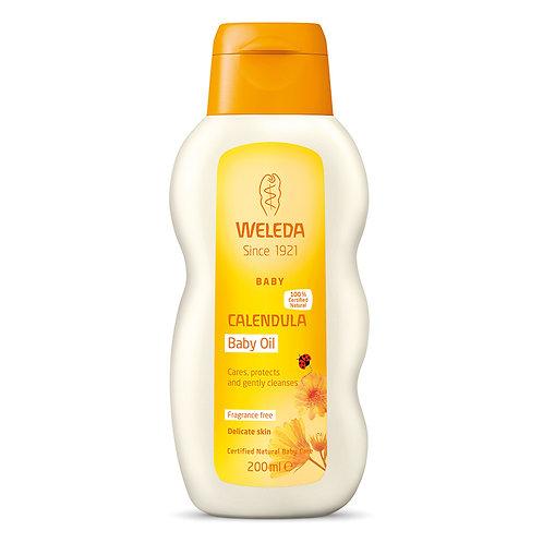 Calendula Baby Oil Fragrance Free