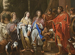 Abraham and Sarah before Abimelech 1681