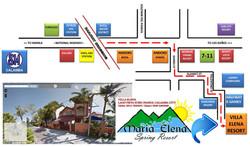Maria Villa Map